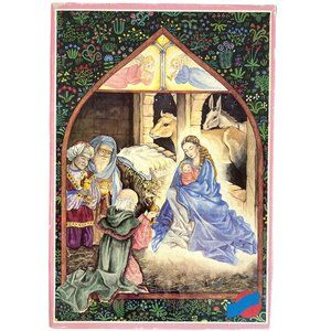 Vintage Puzzle The Adoration of the Magi 99 piece